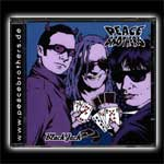 CD Cover Peace Brothers, Black Jack 17+4